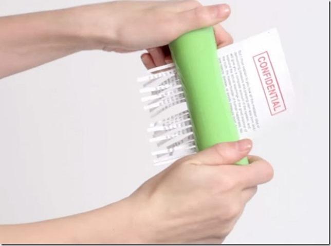 Hand-Powered Paper Shredder (1)