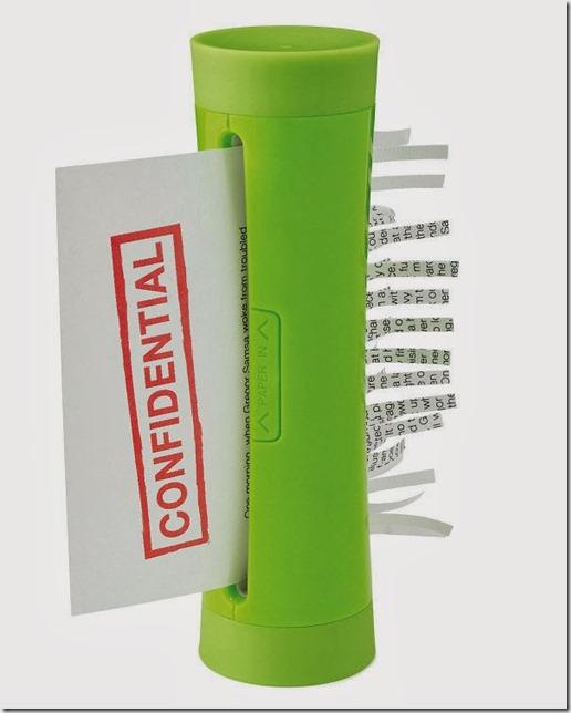 Hand-Powered Paper Shredder (3)