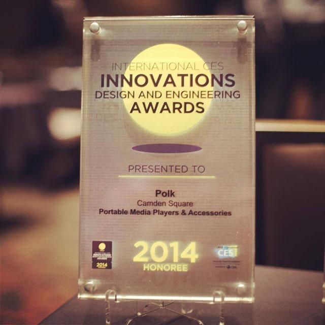 Polk audio award
